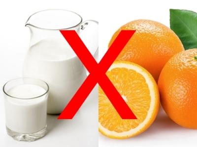 Top 5 thực phẩm tuyệt đối không dùng chung với sữa