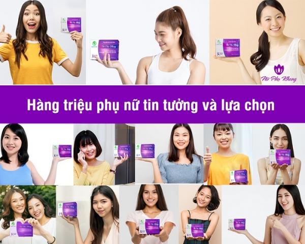 Cộng đồng chị em sử dụng sản phẩm Nữ Phụ Khang của Dược Khang Linh