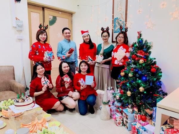 Kỉ niệm Giáng sinh ấm áp cùng Công ty Dược phẩm Khang Linh