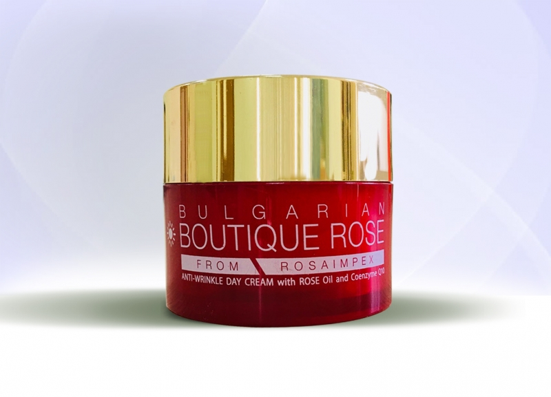 ANTI- WRINKLE DAY CREAM with ROSE Oil and Coenzyme Q10