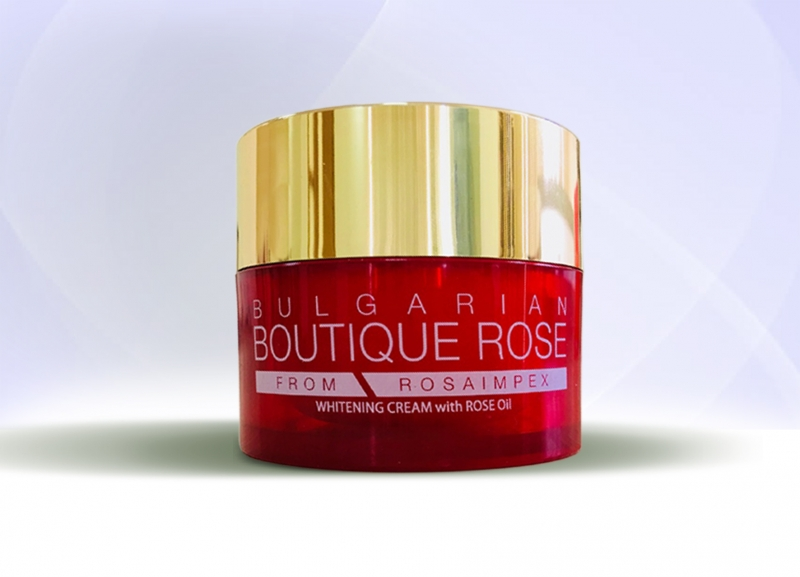 WHITENING CREAM with ROISE OIL